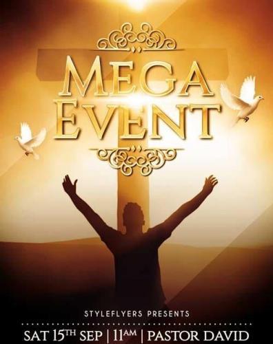 Mega Event V1 PSD Flyer Template