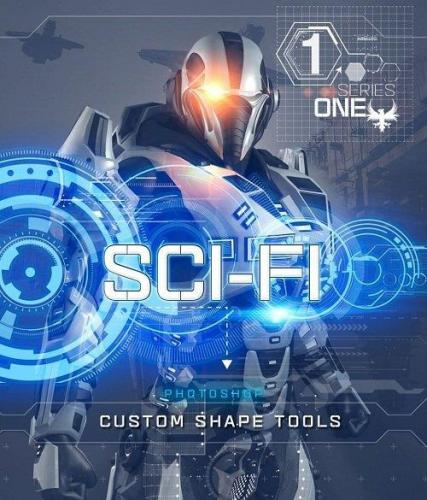 Rons Sci-Fi Custom Shapes Series 1 Brushes