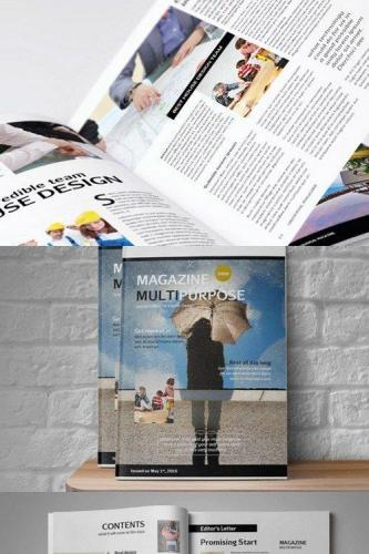 Multipurpose Magazine Template 741850