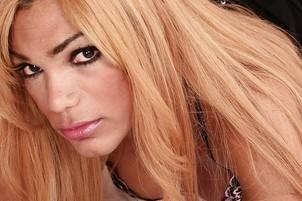 Awesomeinterracial.com- Latina Tranny Mariana Strokes Off