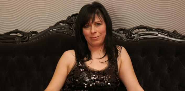 Mature.nl- Horny mom with panties on plays with herself